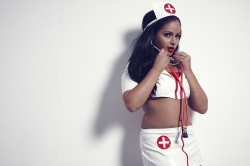 Jasmine jones  bondage tape nurse. Me; Goddess Jasmine teasing